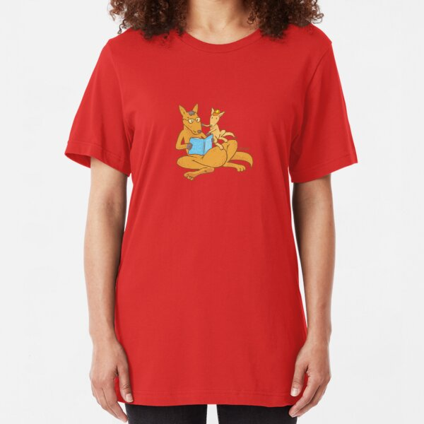 Aussie Kangaroos Slim Fit T-Shirt