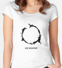 Use Weapon Fitted Scoop T-Shirt
