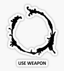 Use Weapon Sticker
