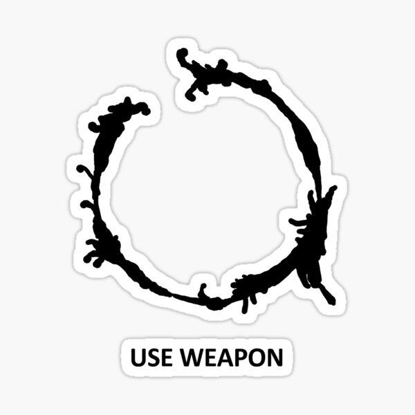 Use Weapon Sticker