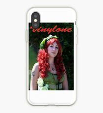 Vinylone and the red curled haired beauty made by Blunder iPhone Case