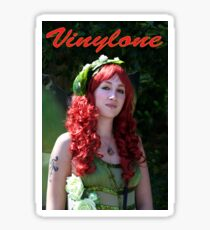 Vinylone and the red curled haired beauty made by Blunder Sticker