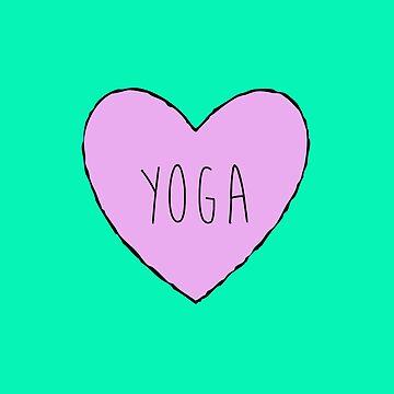 Yoga Heart by kay-la-vie