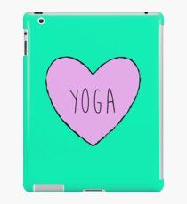 Yoga Heart iPad Case/Skin