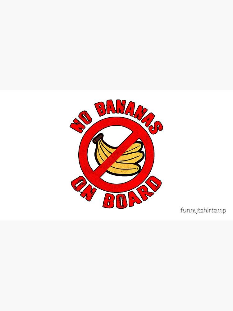 No Bananas on Board Boat Fishermen Superstition Shirt Funny by funnytshirtemp