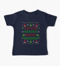 Cotton Headed Ninny Muggins Ugly Christmas Sweater Baby Tee