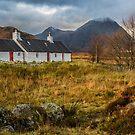 Black Rock Cottage - Glencoe, Scotland by Sandra Cockayne