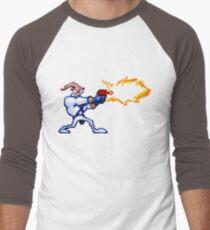 Earthworm Jim Men's Baseball ¾ T-Shirt