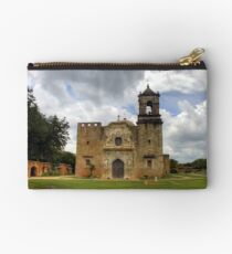 The Cathedral of San Jose - San Antonio Studio Pouch