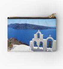 Church bells in Santorini Studio Pouch