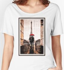 old book drawing famous people cal Women's Relaxed Fit T-Shirt