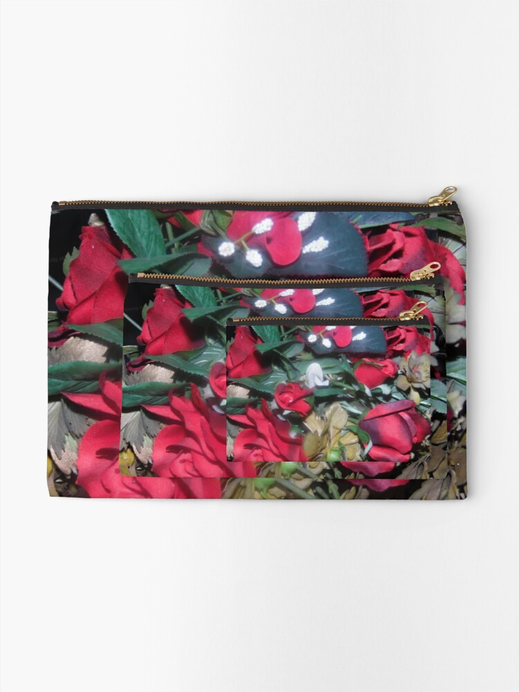 Alternate view of Petals Collection  Zipper Pouch