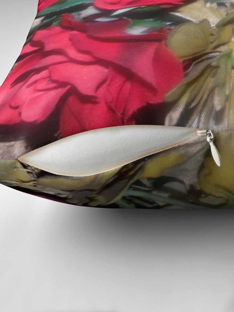 Alternate view of Petals Collection  Throw Pillow