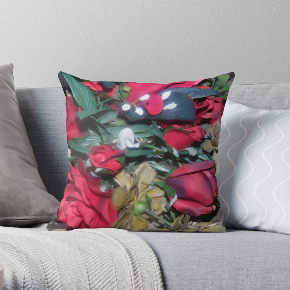 Petals Collection  Throw Pillow