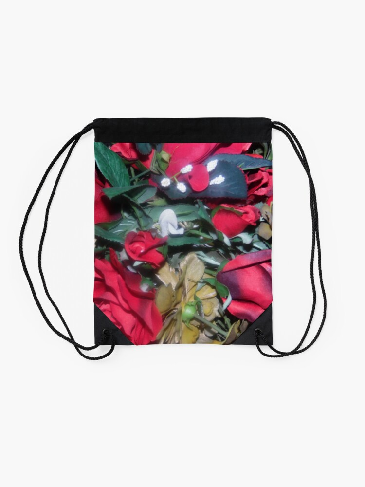 Alternate view of Petals Collection  Drawstring Bag