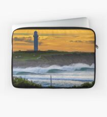 Wollongong City Beach-stacked Laptop Sleeve