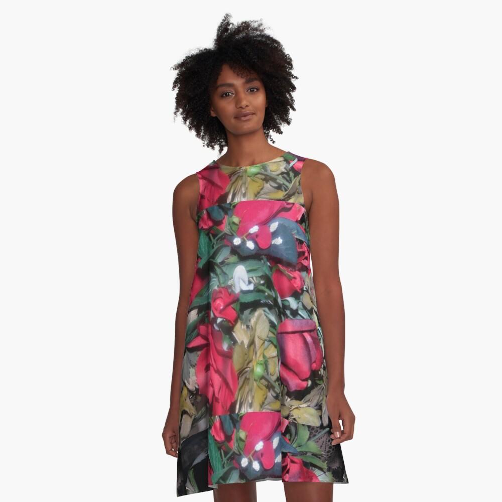 Petals Collection  A-Line Dress