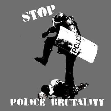 Stop Police Brutality by funprints
