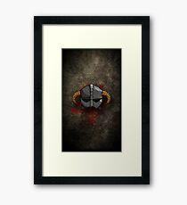 Helm Framed Print