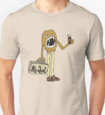 Long Booze Man Unisex T-Shirt