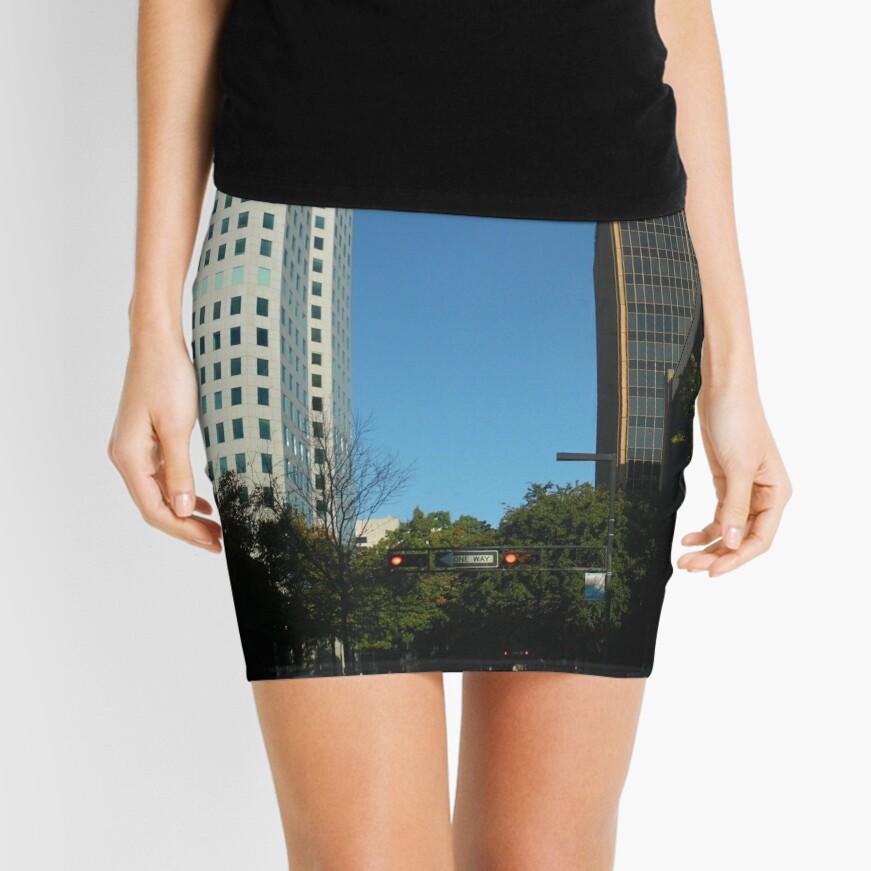 Engulfed in the Scene Mini Skirt