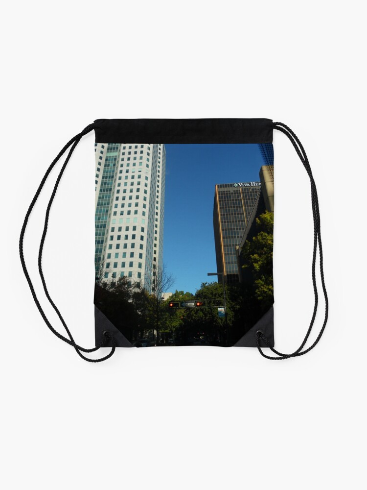 Alternate view of Engulfed in the Scene Drawstring Bag