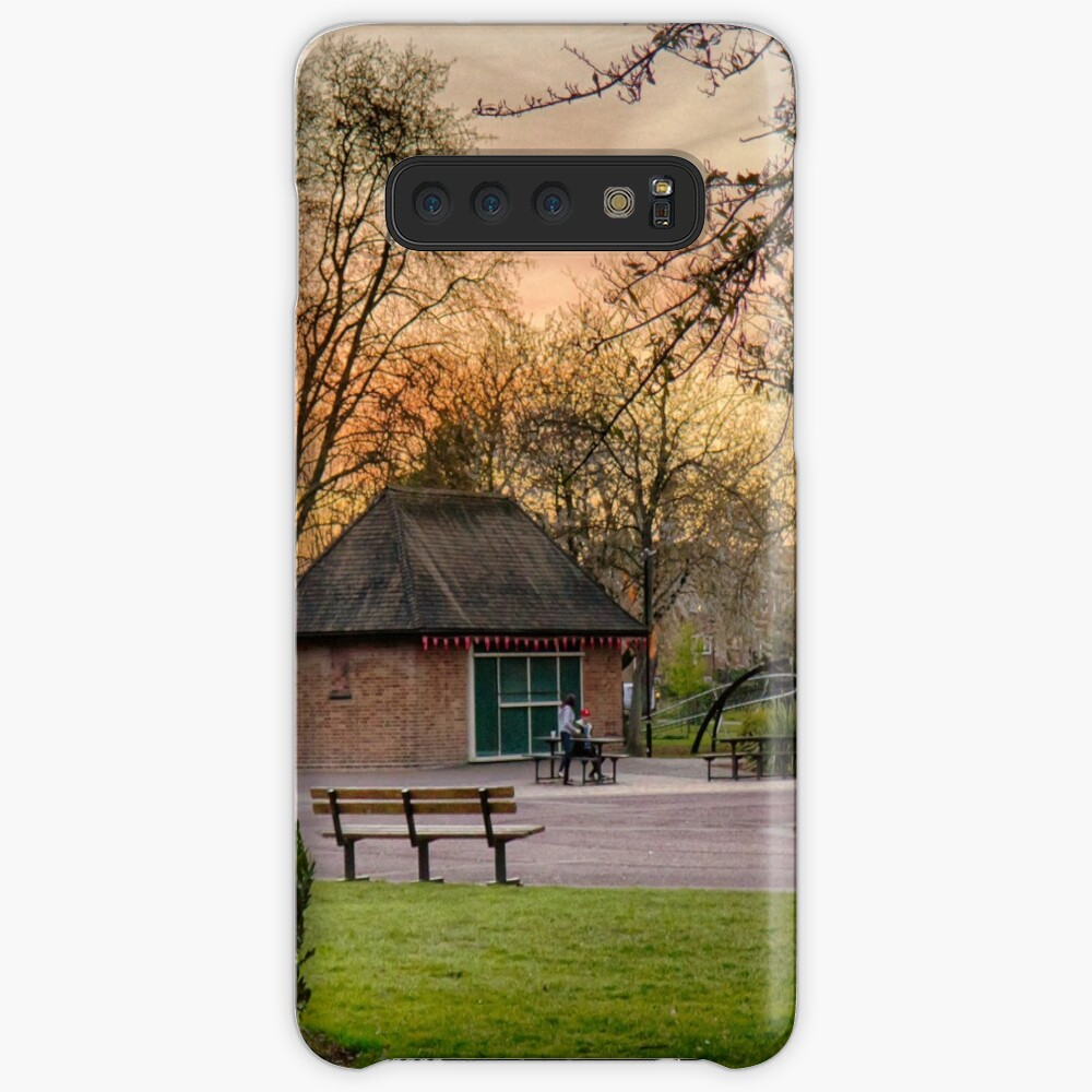 Springtime Sunset in Chapelfield Gardens Case & Skin for Samsung Galaxy