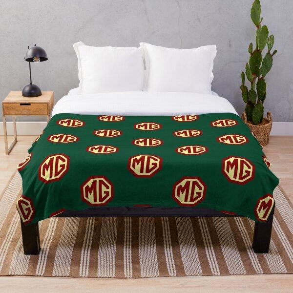 Classic Cars Logo - MG Throw Blanket