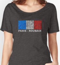 Paris - Roubaix. The Hell of the North Women's Relaxed Fit T-Shirt