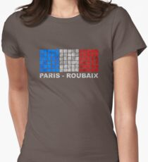 Paris - Roubaix. The Hell of the North Womens Fitted T-Shirt