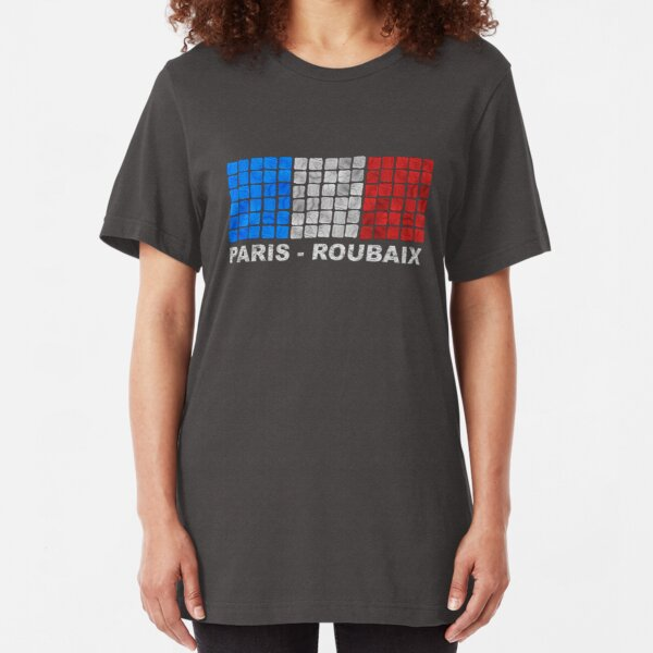 Paris - Roubaix. The Hell of the North Slim Fit T-Shirt