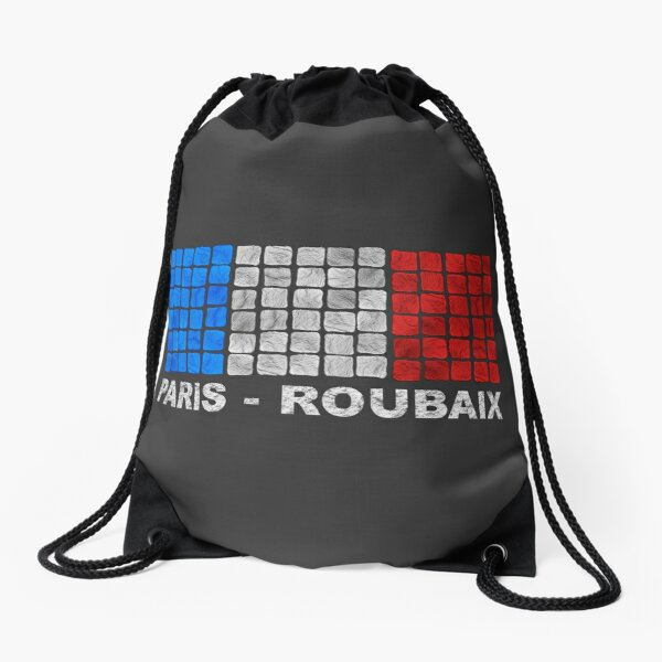 Paris - Roubaix. The Hell of the North Drawstring Bag