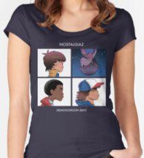 Stranger Things Nostalgiaz Women's Fitted Scoop T-Shirt