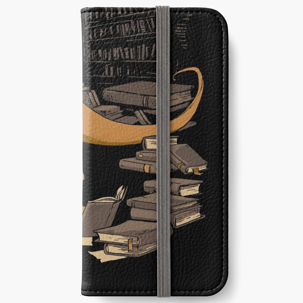 The Book Wyrm iPhone Wallet