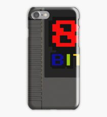 8bit 8 bit cartridge iPhone Case/Skin