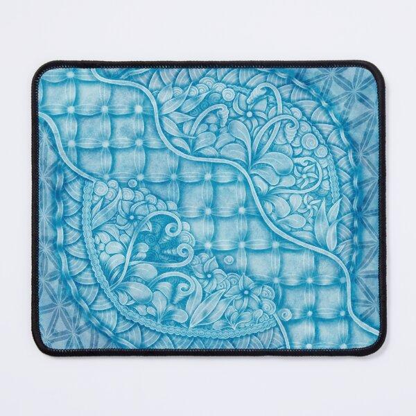 Fantasie _ Blue Mouse Pad