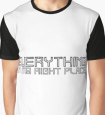 radiohead lyrics cool modern t shirts Graphic T-Shirt
