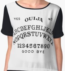 Ouija Board - Spirit Circle - Occult Reading Chiffon Top