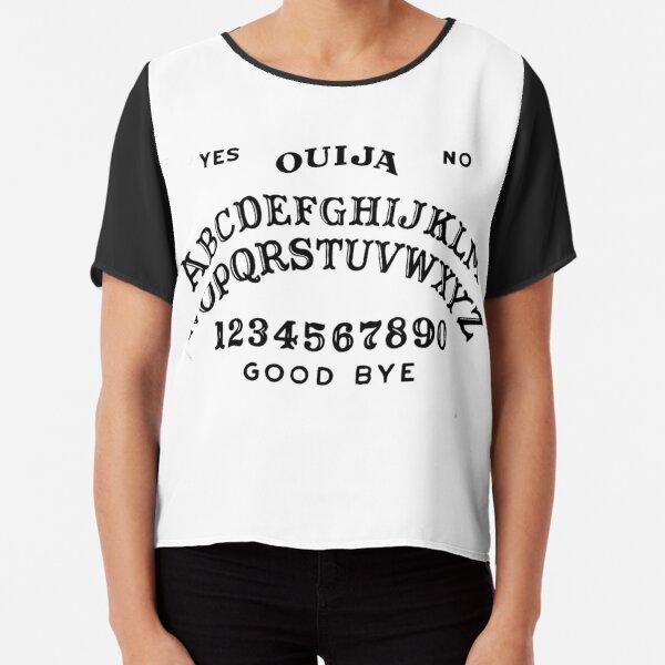 Ouija Board - Spirit Circle - Occult Reading Chiffon Top
