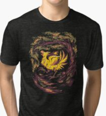 Chocobo with Blossoms Tri-blend T-Shirt