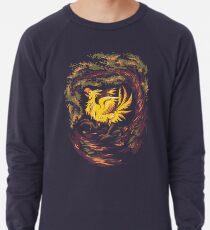 Chocobo with Blossoms Lightweight Sweatshirt