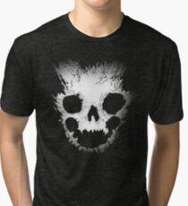 Emile Skull - Halo Reach Design Tri-blend T-Shirt