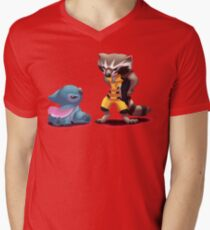 What are you staring at? Men's V-Neck T-Shirt