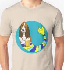 Fred the Basset Hound Mermutt Unisex T-Shirt