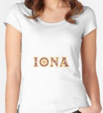 Iona College Women's Fitted Scoop T-Shirt