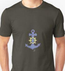 blauer Anker Unisex T-Shirt
