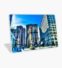 Vinilo para portátil Streets and Buildings of New York City, USA