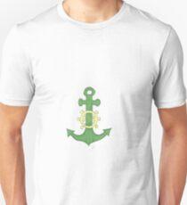 grüner Anker Unisex T-Shirt