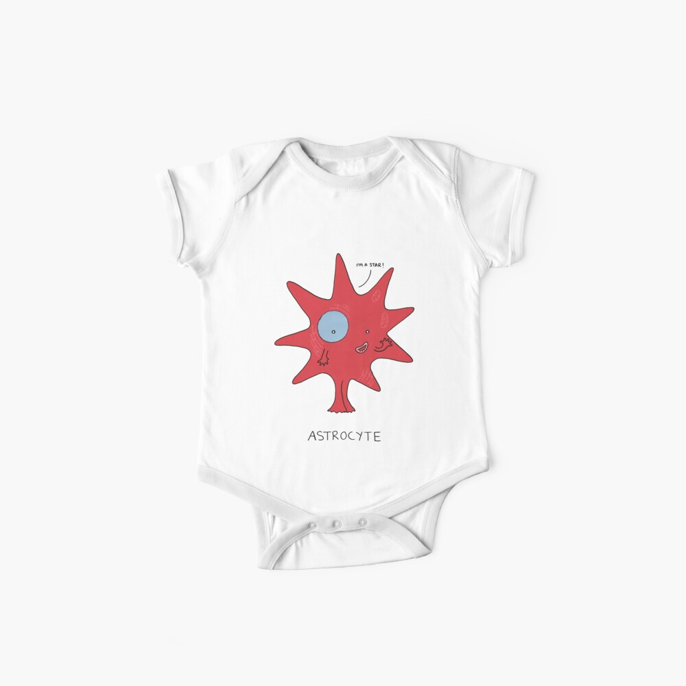 Astrocytes are stars! Baby One-Piece