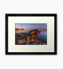 Neist Point. Isle of Skye. Scotland. Framed Print